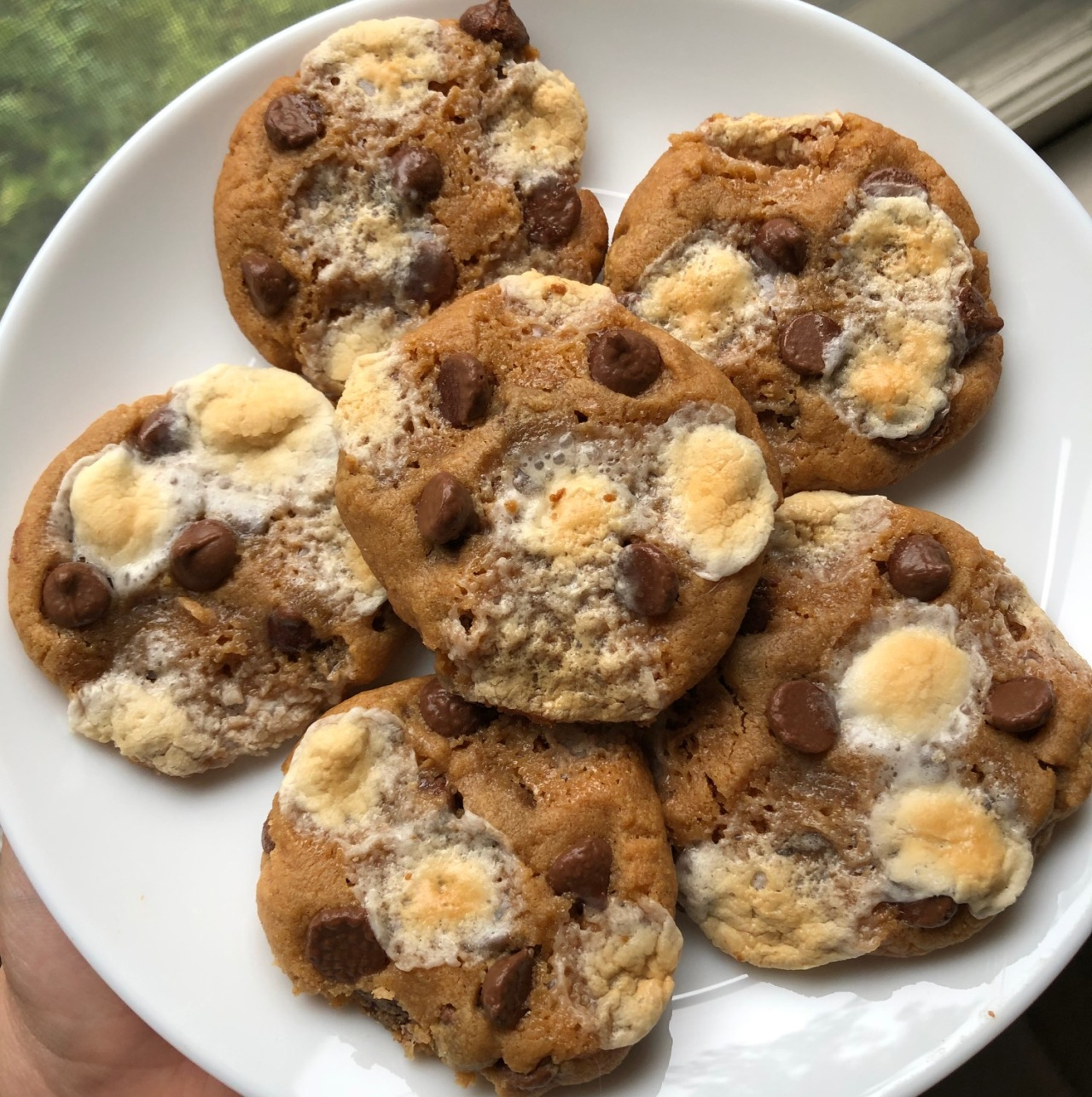 Gluten Free Peanut Butter S'mores Cookies