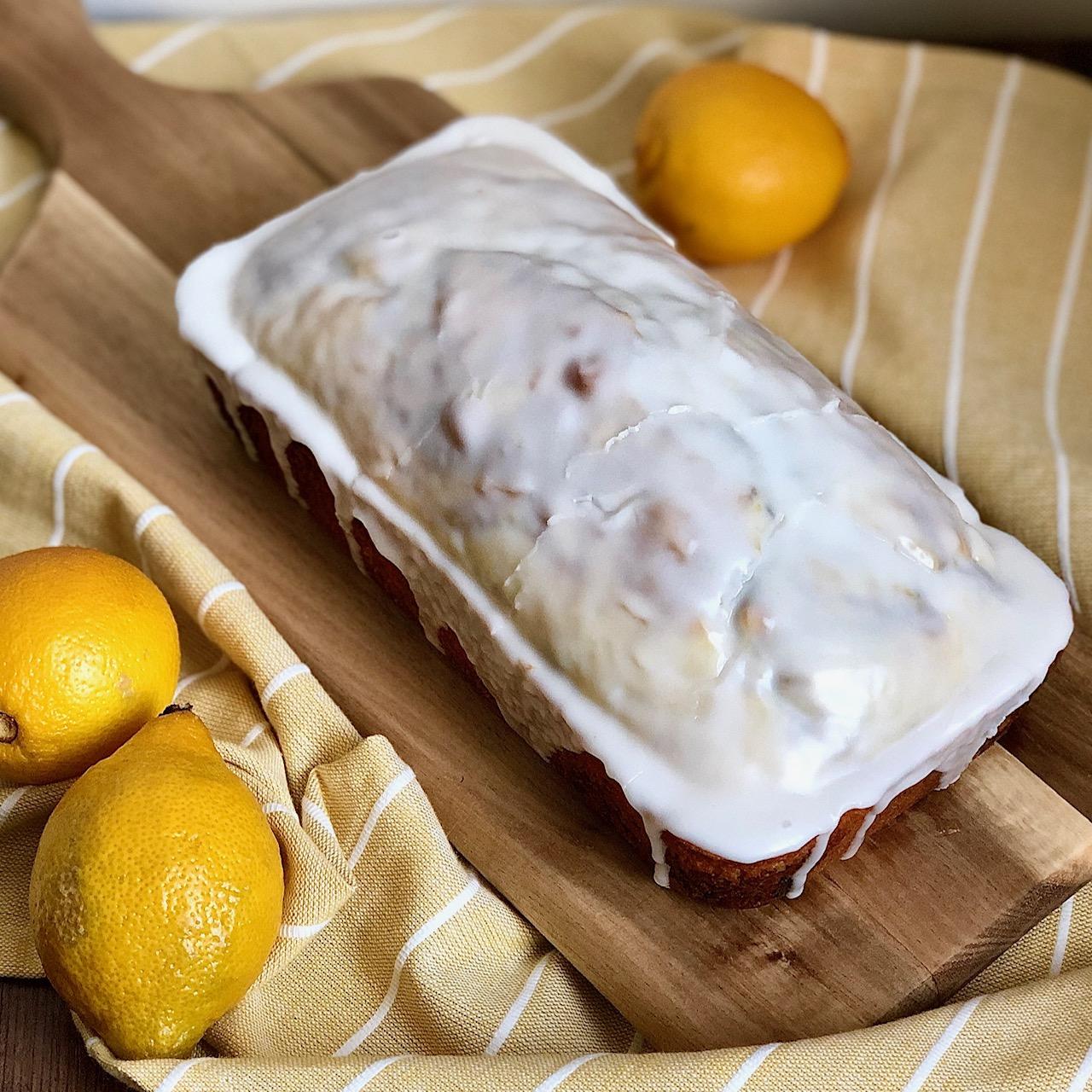 iced lemon swirl loaf